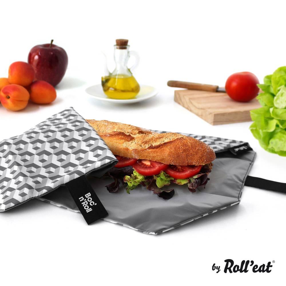 bocnroll tiles black sandwich rolleat - EcoSpace