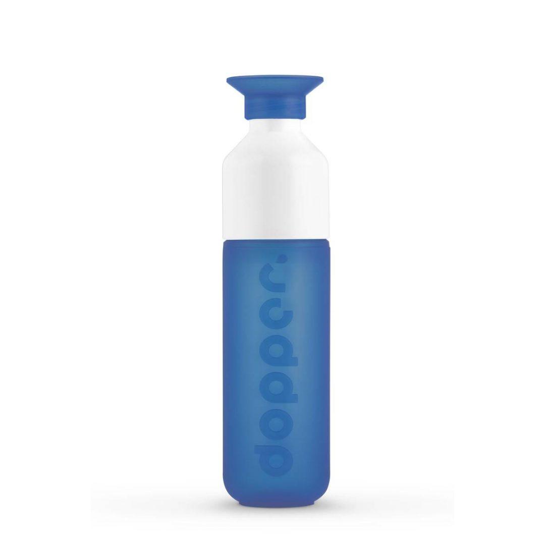 0.1 0840 Dopper Original Pacific Blue Bottle Full - EcoSpace