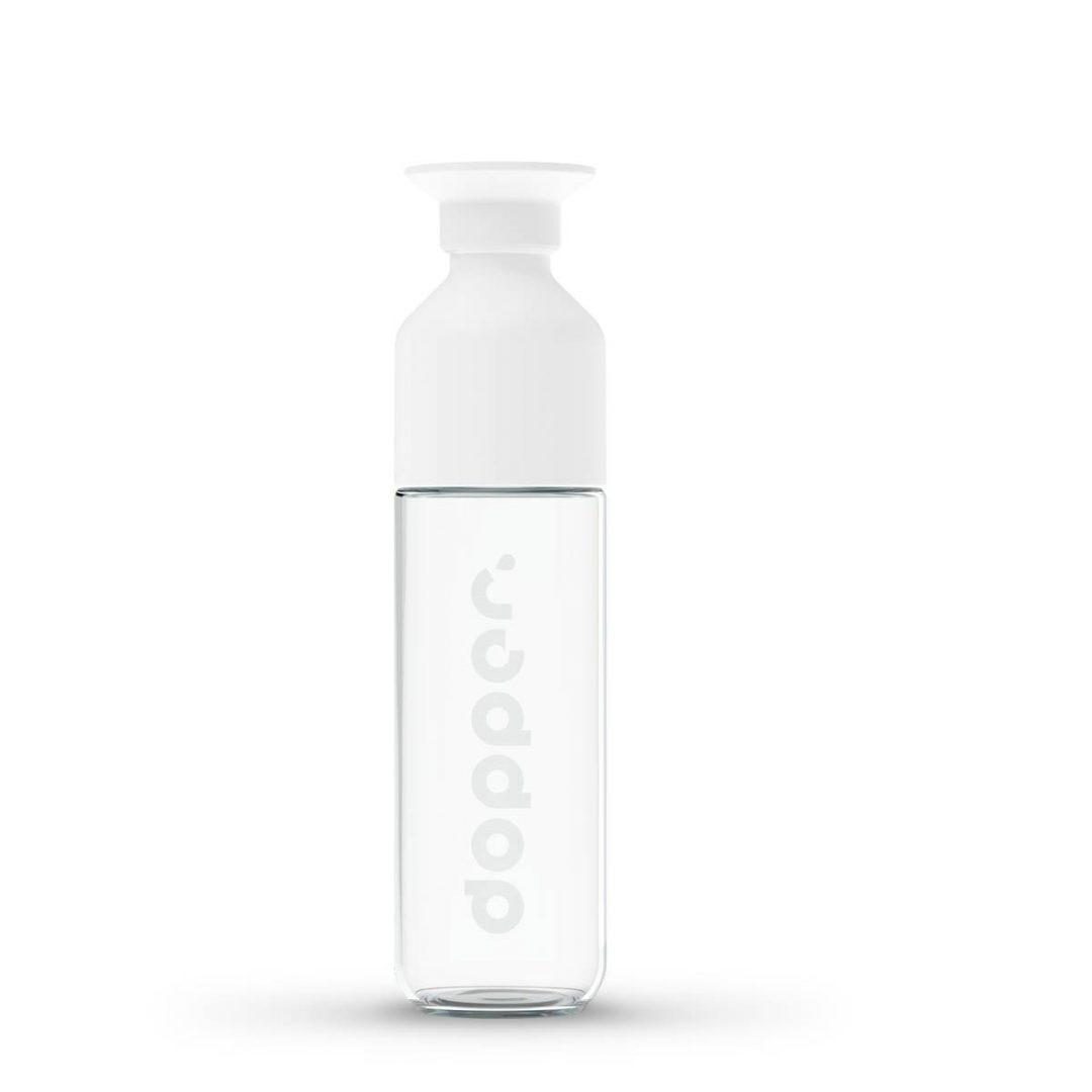 01. 2370 Dopper Glass Bottle Full - EcoSpace