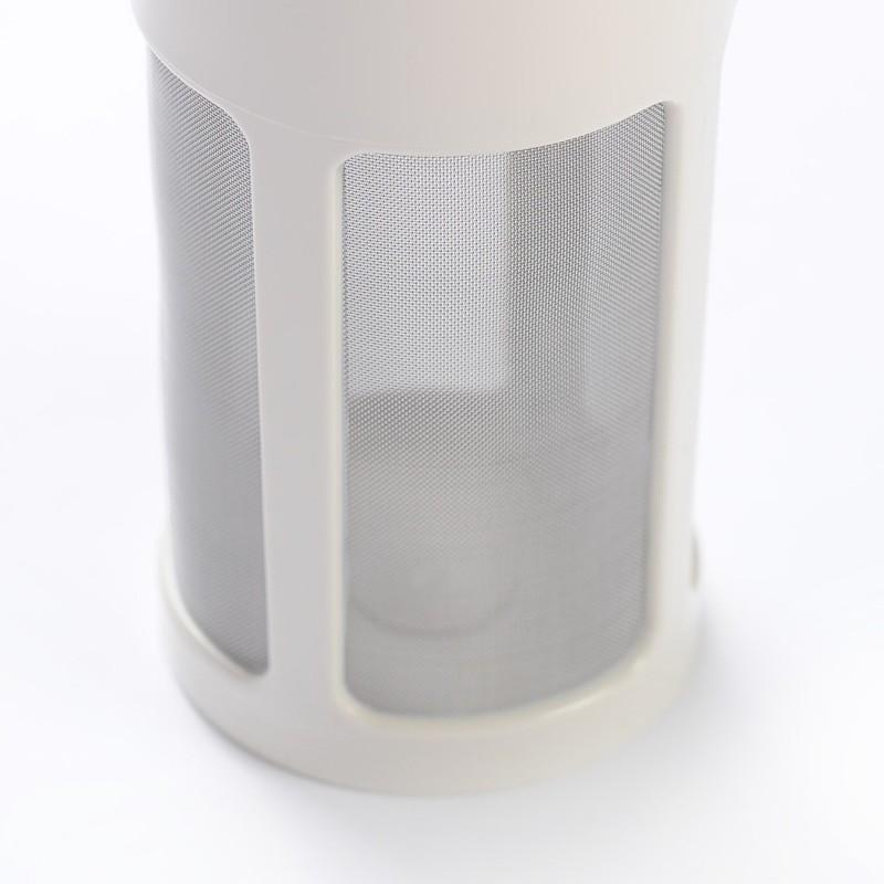 vaso filtrante negro o blanco - EcoSpace